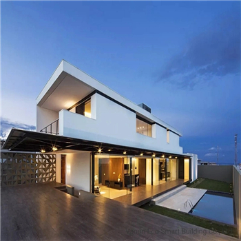What are the characteristics of light steel villas