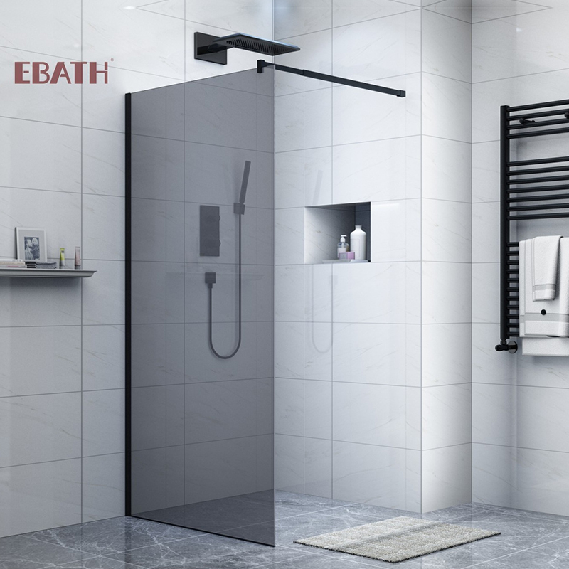 What is the best material for the shower enclosure?