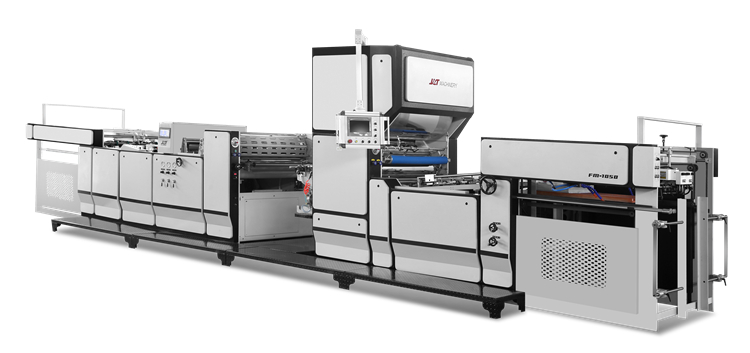 Use of pre-coating type laminating machine