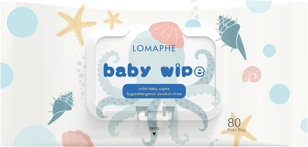 What ingredients can't be contained in baby wipes