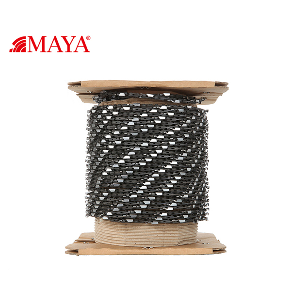 What are the characteristics of using chainsaw chains
