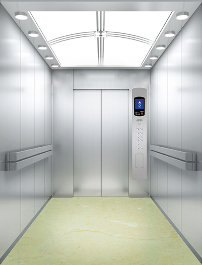 What is a machine room-less elevator?
