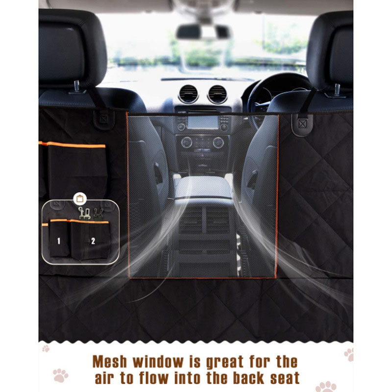 What material is good for dog car seat cover