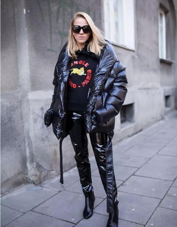 womens long down coat