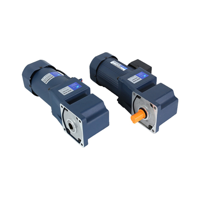 How is the AC geared motor in use