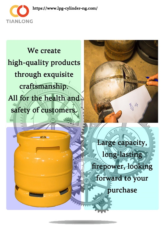 What are the precautions for LPG cylinders