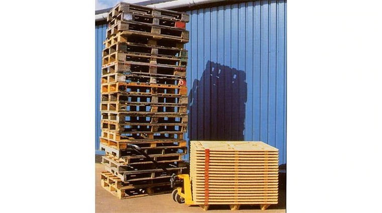 Fumigation-free Wooden Pallet