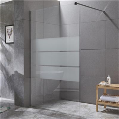 The correct maintenance method of shower enclosure glass
