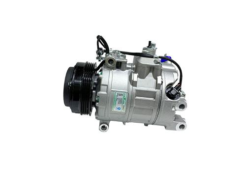 Will damage to the car air conditioner compressor cause abnormal sound