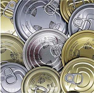 How to deal with the black surface of tin cans