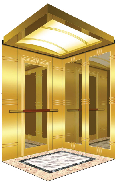 How to install passenger elevators if the building space is not large enough