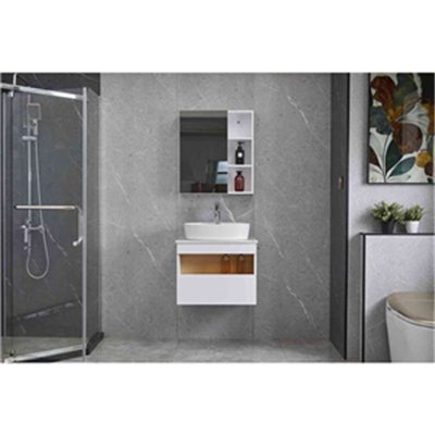 What is the difference between bathroom cabinets with different wood panels
