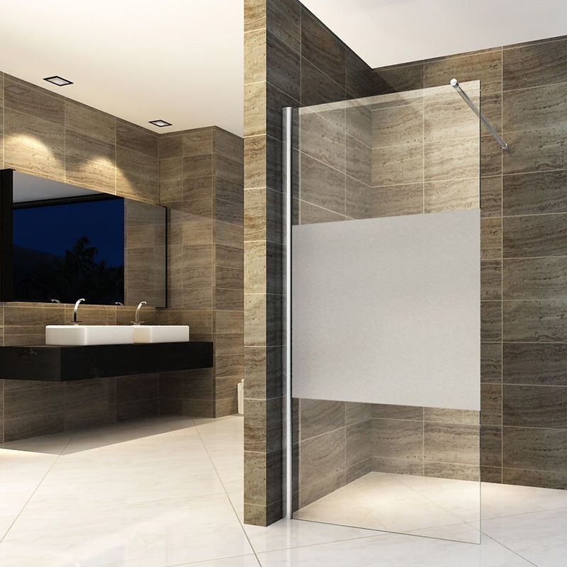 What are the materials of the shower enclosure of the shower room manufacturer