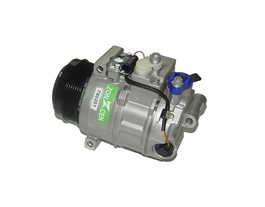What are the inspection and test methods for automobile air-conditioning compressors
