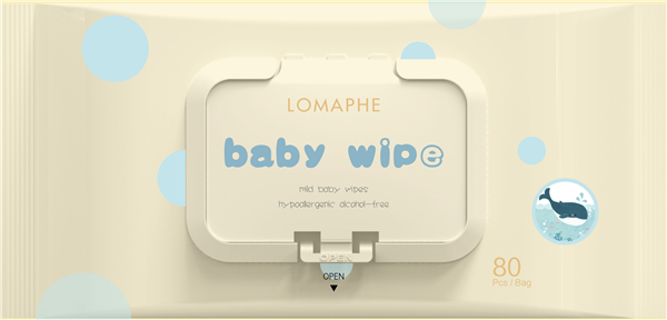 Does the wet cloth produced by the manufacturer of baby wipes contain alcohol