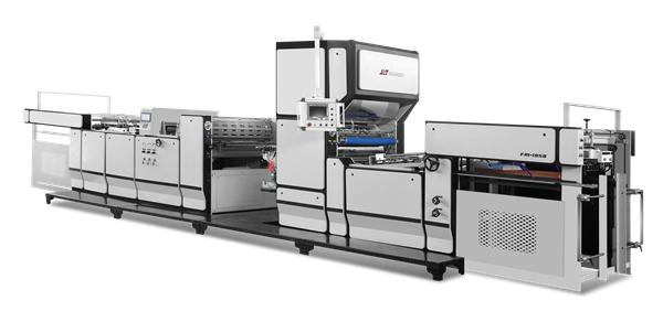 automatic pre-coating film laminating machines