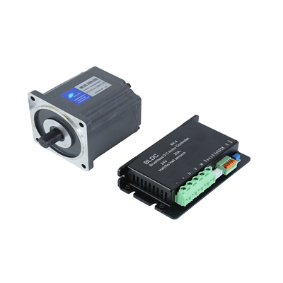 What is the main composition of the DC geared motor