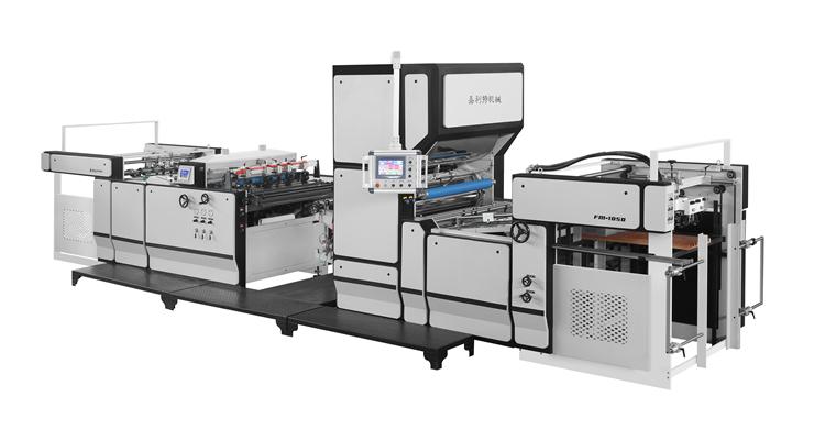 Operation process of pre-coating type laminating machine