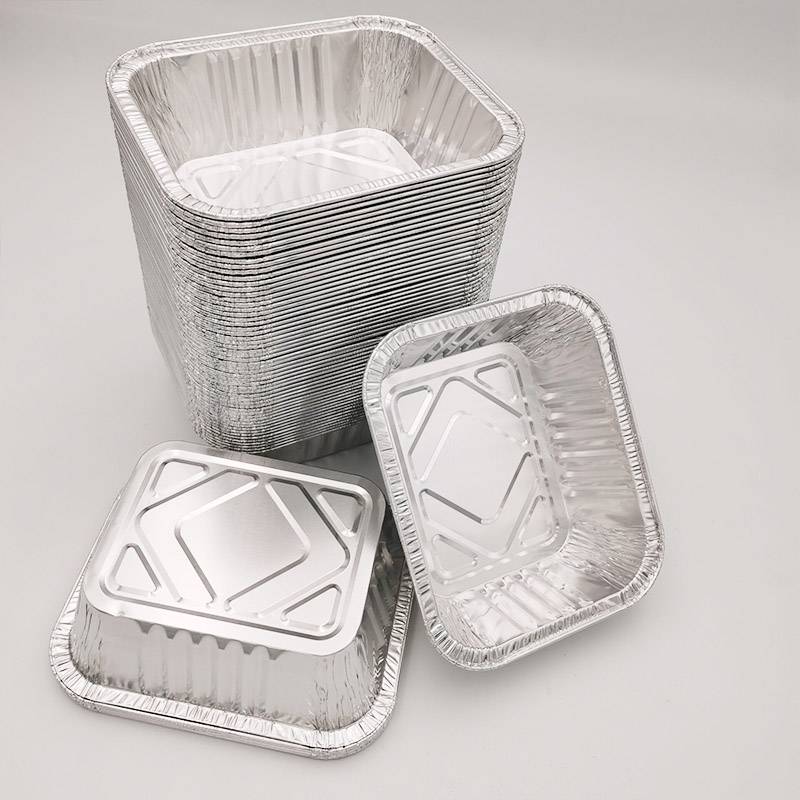Aluminum foil tray is widely used
