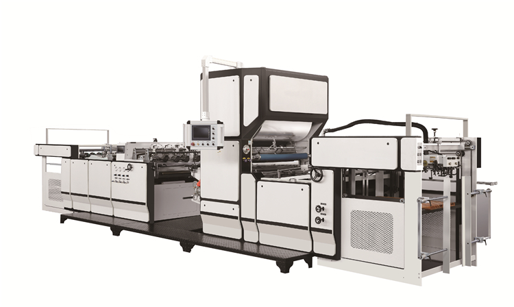 What is a pre-coating type laminating machine