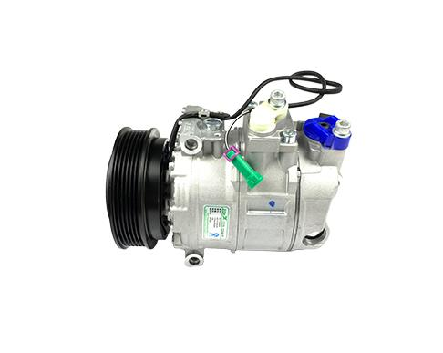 What are the classifications of automobile air conditioning compressors