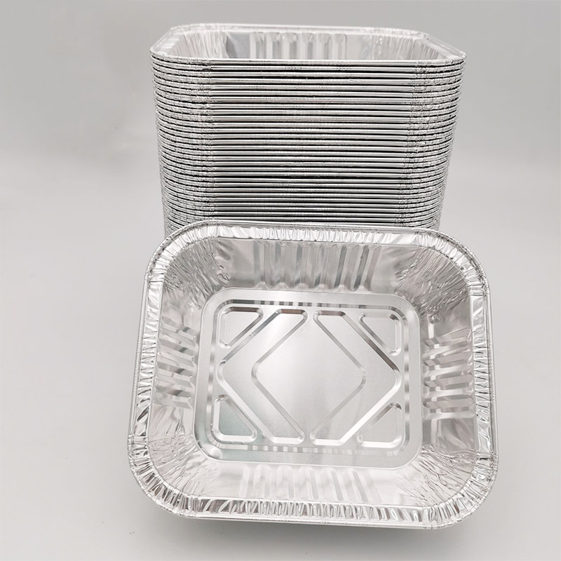 What are the production requirements for aluminum foil containers? Which manufacturer has high production standards?