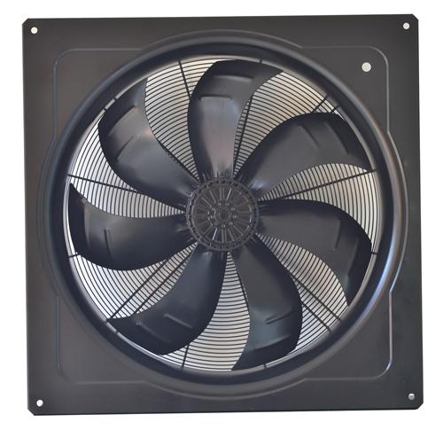 Application principle of axial fan