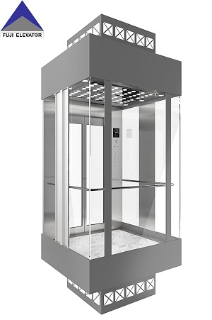 The setting of the fire elevator