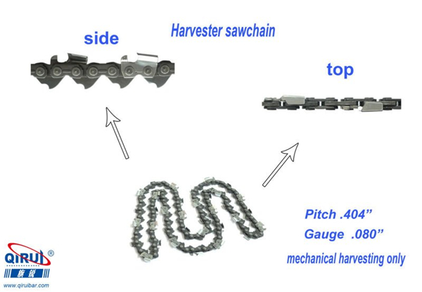 What should I pay attention to when using chainsaw chains