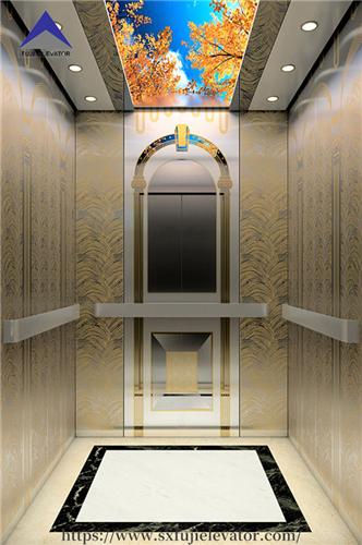 MRL passenger elevator