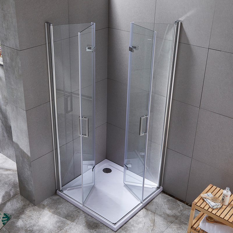 What are the requirements for the materials of the shower enclosure? What kind of material is good?