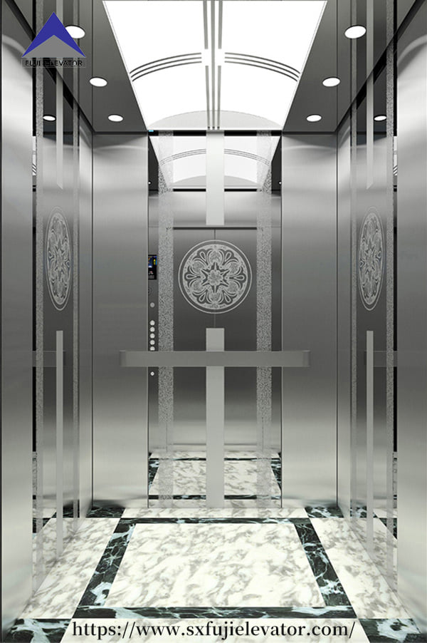 How to maintain the mechanical parts of the elevator?
