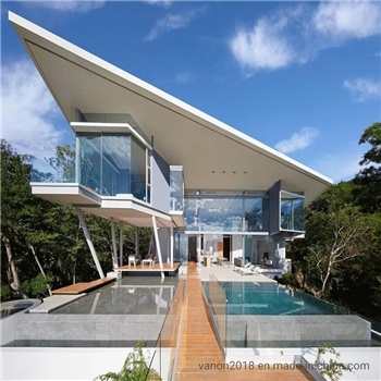 What are the performance characteristics of the light steel villa itself