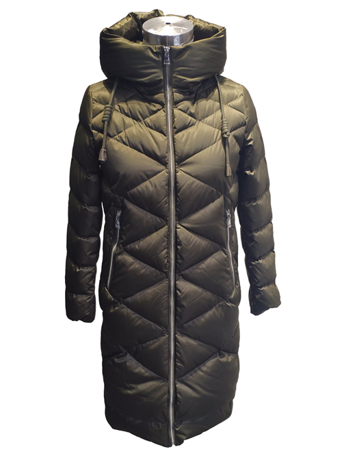 What kind of ladies down jacket is better for small girls