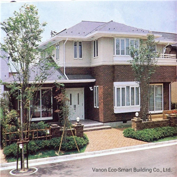 What are the characteristics of light steel houses
