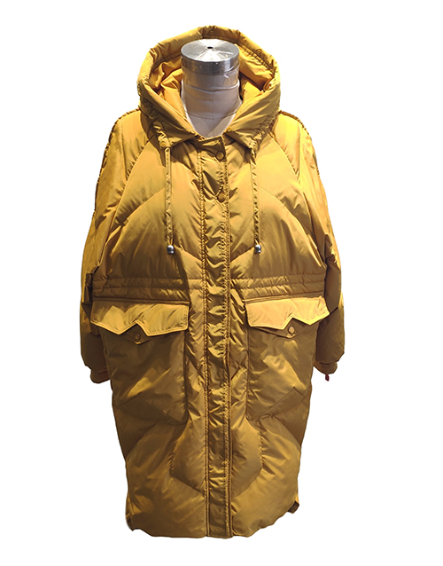 How to maintain women's goose down coat