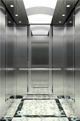 What are the advantages of small machine room passenger elevators
