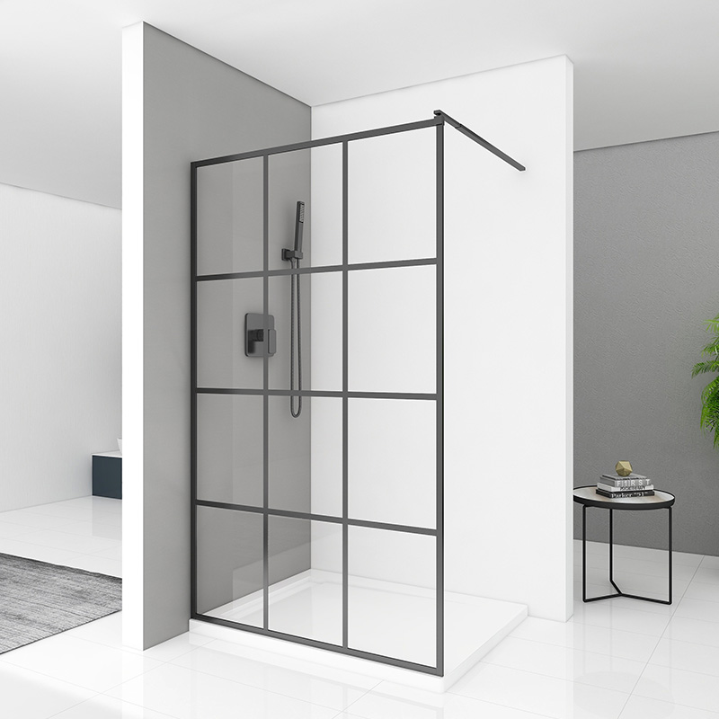 How to make shower enclosure drainage system? What parts are included?