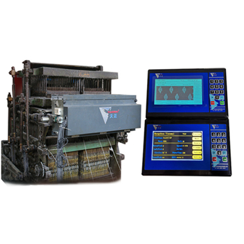 What are the characteristics of Chinese electronic jacquard machines
