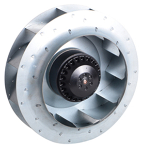 What are the application ranges of centrifugal fans