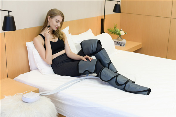 What is the principle of cycling Leg Massager