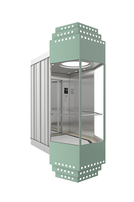The structure of the elevator