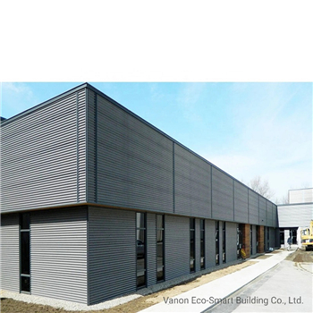 What are the characteristics of the steel structure workshop
