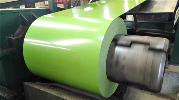 What are the main industries that use color steel coils
