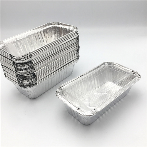 How is the aluminum foil platter in use