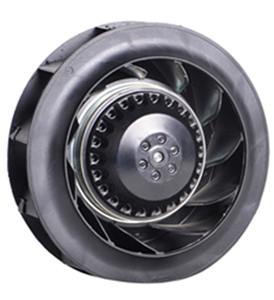 What form does the axial fan have