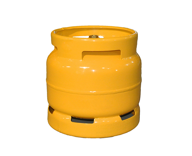 What is the appropriate size of LPG cylinder