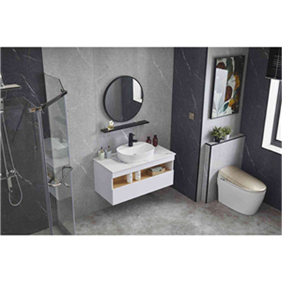 What are the advantages and disadvantages of stainless steel and mahogany bathroom cabinets