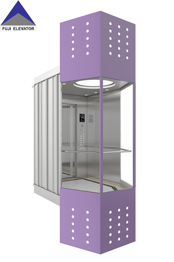 Classification of elevators by driving mode