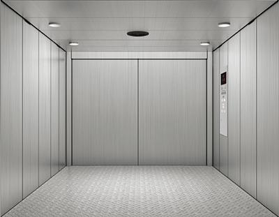 Freight elevator installer